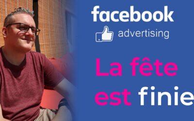 Publicité Facebook : bon moyen pour se RUINER ?